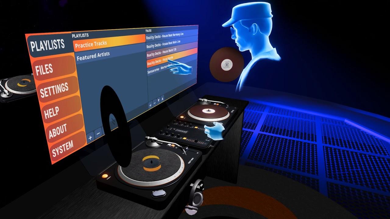 Reality Decks - DJ app for Virtual Reality - Trailer