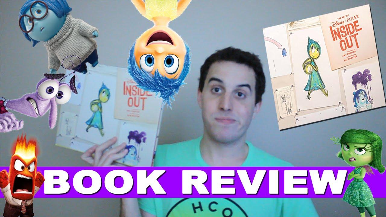 The Art of Disney Pixar's Inside Out Book Review|Otherobert