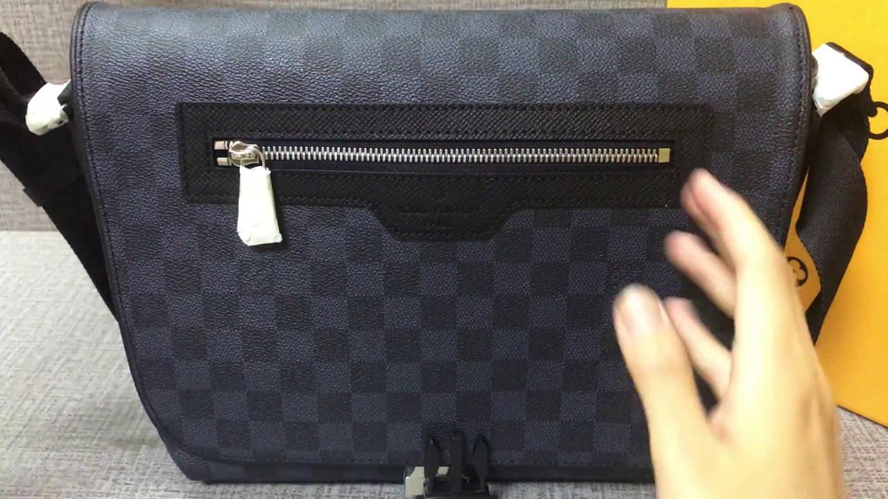 329f9e913613 Louis Vuitton match point messenger bag - YouTube