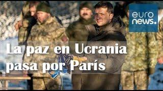 CUMBRE EN PARÍS | RUSIA y UCRANIA intentan reactivar el PROCESO DE PAZ en la región del DONBÁS