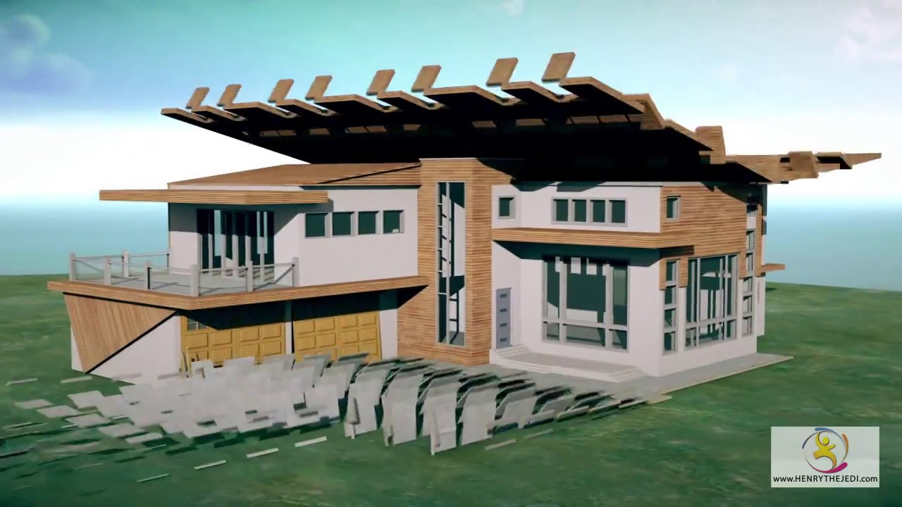 3D House And Building Construction Buildup Animation Training DVD