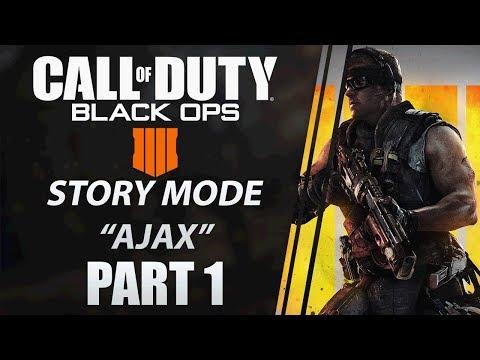 COD: Black Ops 4 Story Mode Walkthrough | Specialist HQ | Part 1 | AJAX