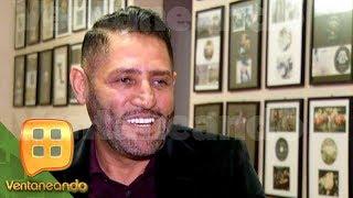 ¡Pancho Barraza visitó a su compadre Julio Preciado antes de que saliera del hospital! | Ventaneando