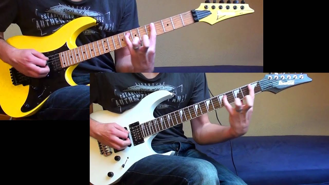 killswitch engage the end of heartache dual guitar cover hd