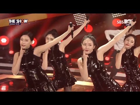 160223 Six Bomb - Wait 10 Years Baby ○ The Show [60fps]
