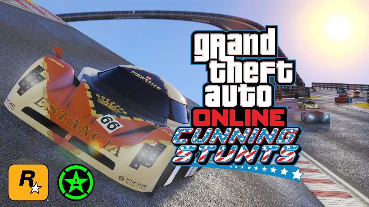 CUNNING STUNTS with Achievement Hunter: The Official Rockstar Games Live Stream (GTA Online) - CUNNING STUNTS with Achievement Hunter: The Official Rockstar Games Live Stream (GTA Online)
