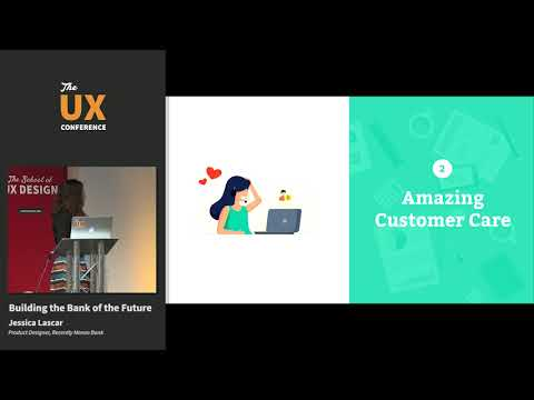 The UX Conference February 2019 – Building the Bank of the Future – Jessica Lascar – Monzo