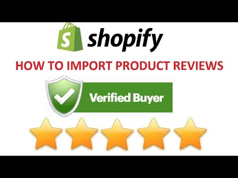 How to create & import verified buyer product reviews to your Shopify store for FREE