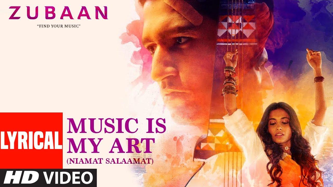 Music Is My Art (Niamat Salaamat) Lyrical | ZUBAAN | Sarah Jane Dias,Vicky Kaushal |T-Series