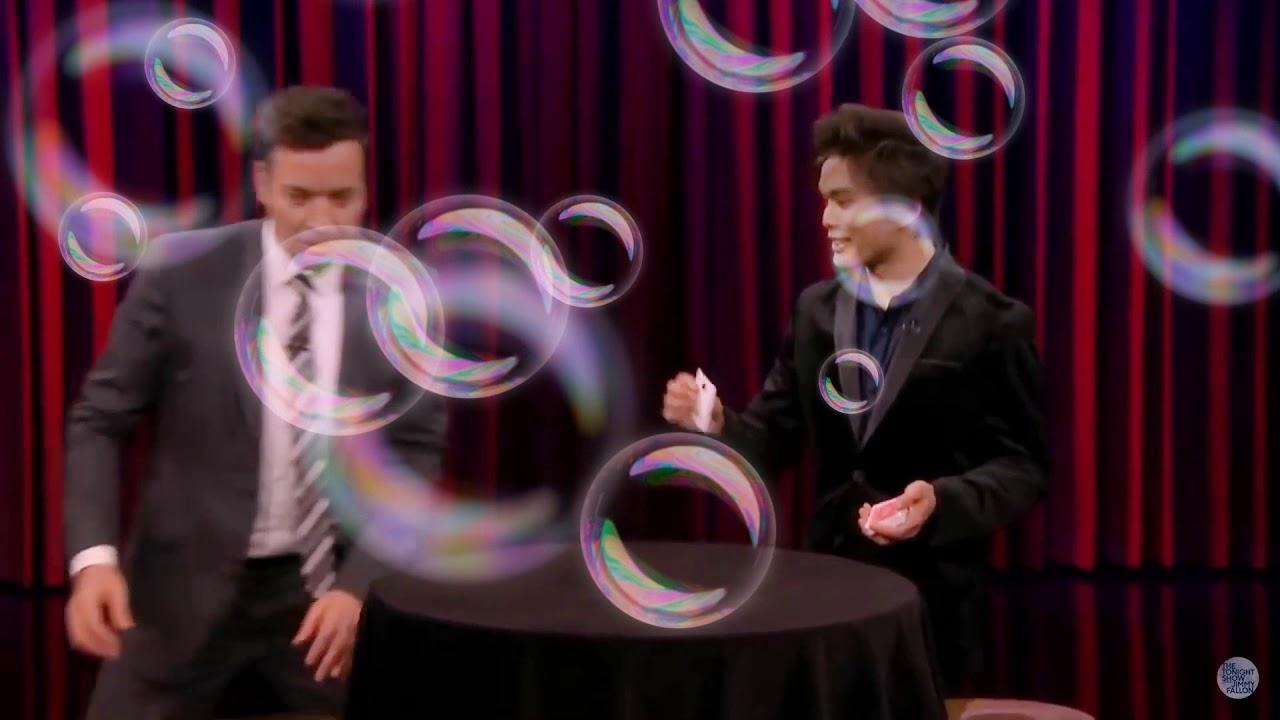 Intoxicated America's Got Talent Winner Shin Lim Stuns Jimmy with a Magic Trick - YouTube