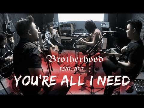 White Lion - You're All I Need - Cover By BROTHERHOOD PROJECT Feat. AFIF