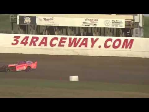 34 raceway heat race June 24