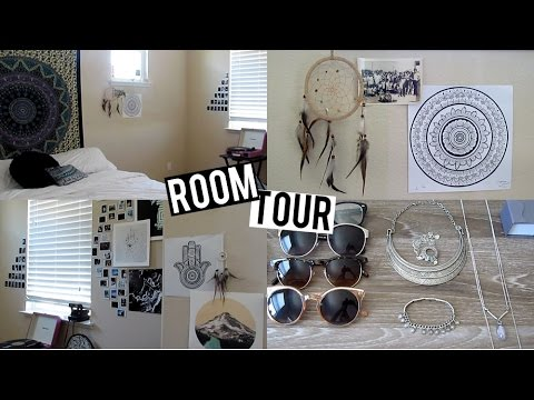 Room Tour Urban Outfitters Boho Tumblr Inspired