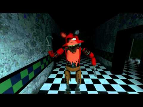 NEW WITHERED FOXY MODEL