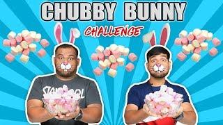 CHUBBY BUNNY CHALLENGE   Marshmallow Eating Challenge   Food Challenge
