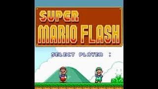JUGANDO SUPER MARIO FLASH