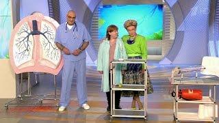 видео Крупозное воспаление легких (пневмония)