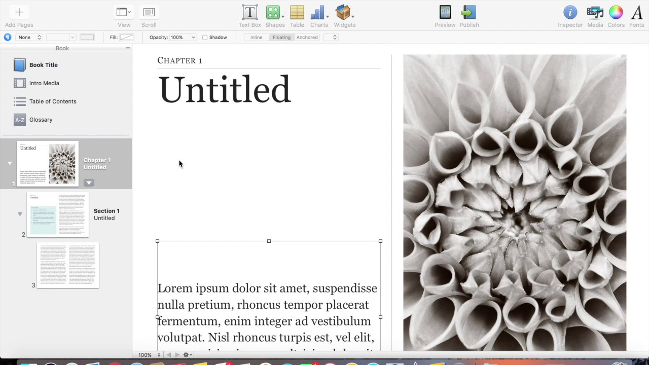 Choosing Templates in iBooks Author - YouTube