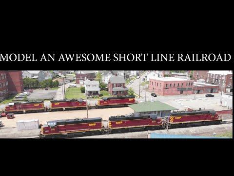 Model Railroad Planning:  Short Line Railroad.  Inspiring ideas.