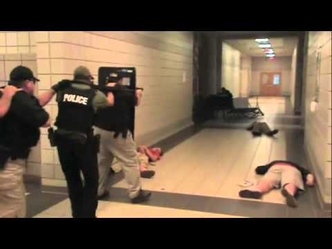 Southern Choctaw High School Active Shooter Drill 2013
