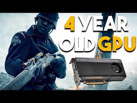 How Does Battlefield 1 Run on a 4 Year Old Video Card (Battlefield 1 GTX 660 Ti Performance)