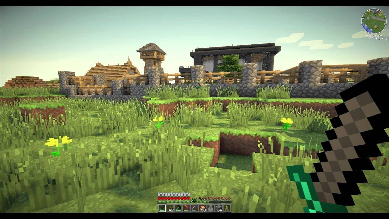 Minecraft SOLO Full HD TEST + Dynamic Shaders