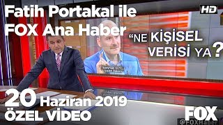 Özel hayatı ifşa eden otelden açıklama yok... 20 Haziran 2019 Fatih Portakal ile FOX Ana Haber