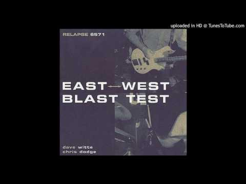 East west blast test Magnetic field