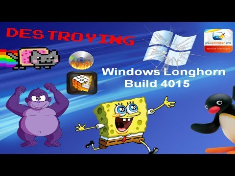 Destroying Operating Systems Episode 20: Windows Longhorn Build 4015