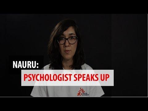 Nauru: Hear from MSF Psychologist Natalia