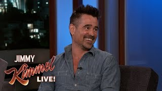Colin Farrell Gets Free Kebabs for Life