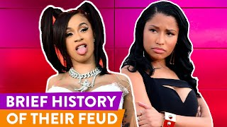 Nicki Minaj vs Cardi B: Rivalry Explained | ⭐OSSA