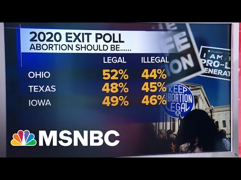 NBC News Poll: In Texas, Voters Are 'In-Between [Extremes] On Abortion'