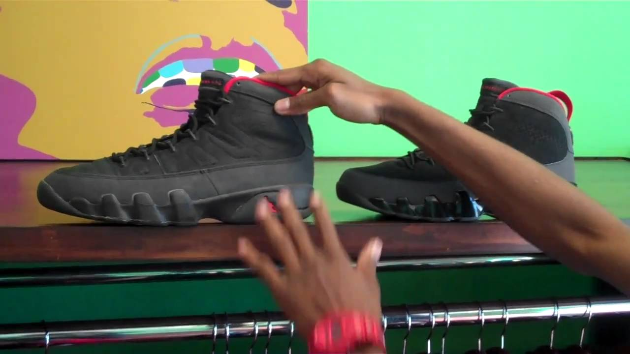 competitive price 491f9 2f076 Air Jordan 9 Charcoal 1993 vs 2010 Comparison by Sneaker Dave - YouTube