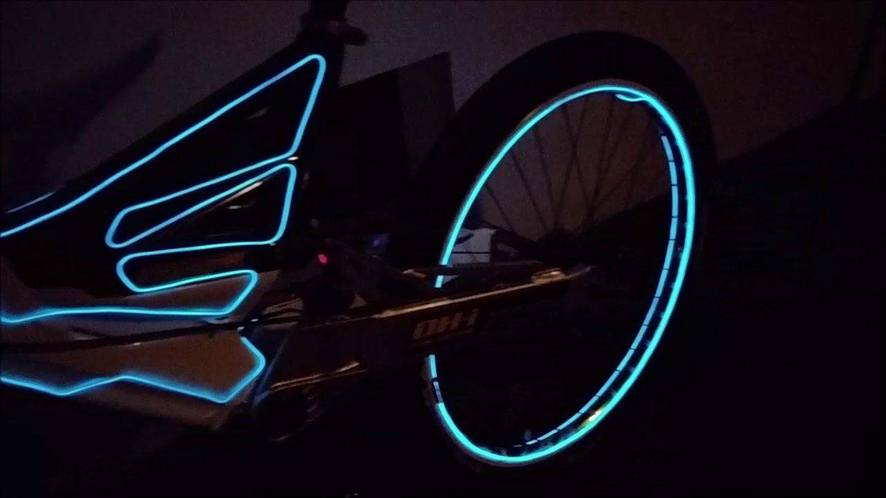 tron fahrrad licht fahrrad tuning licht fahrrad beleucht. Black Bedroom Furniture Sets. Home Design Ideas