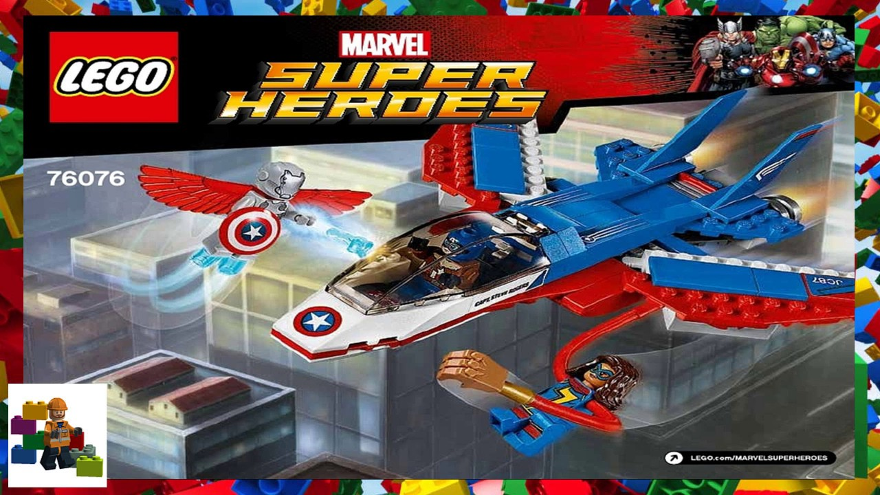 LEGO instructions - Super Heroes - 76076 - Captain America ...