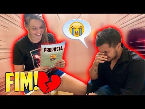 ELA RECEBEU UMA PROPOSTA! ( fim do casal? ) - (GOLEIRO DE FUTEBOL) #18