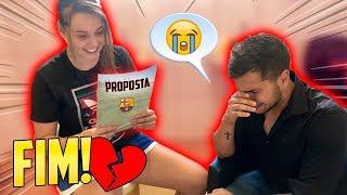 ELA RECEBEU UMA PROPOSTA! ( fim do casal? ) - (GOLEIRO DE FUTEOL) #18
