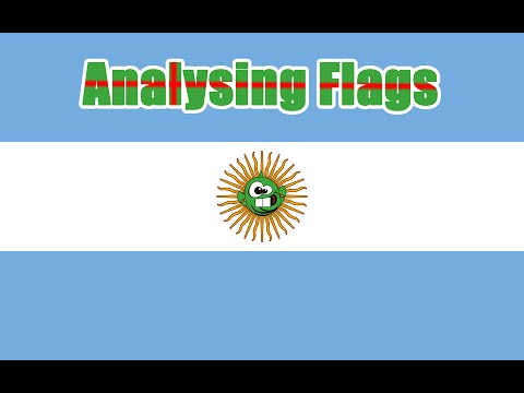 [Dopefish] Analysing National Flags (A-F) (Part 1)