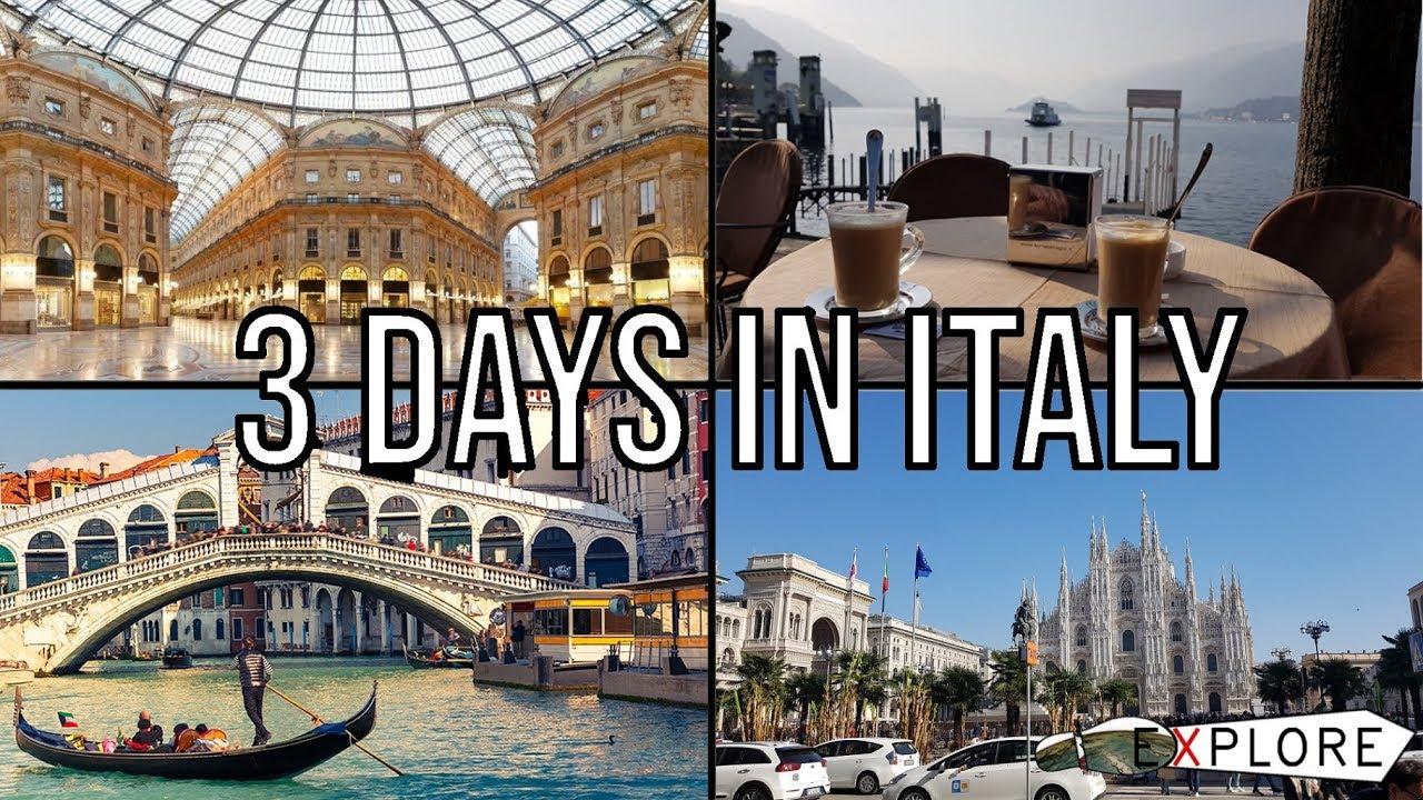 Milan, Venice & Como - 3 days in Italy