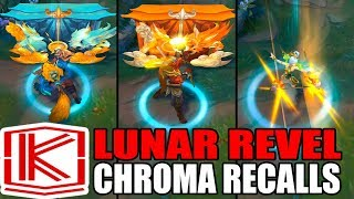 ALL NEW LUNAR REVEL CHROMA RECALLS - League of Legends