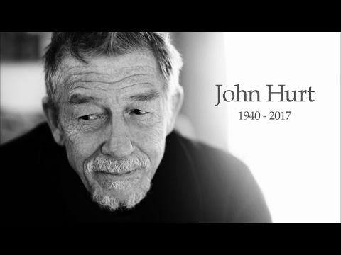 never give up, never give in  Sir John Hurt Tribute