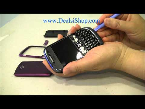 Blackberry Curve 3G 9300 9330 Housing Change Guide