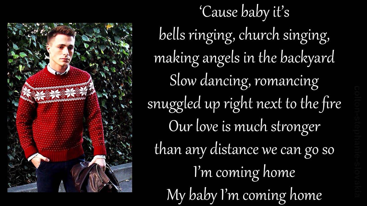 Travis-Atreo & Colton Haynes - Baby It's Christmas piano version ...