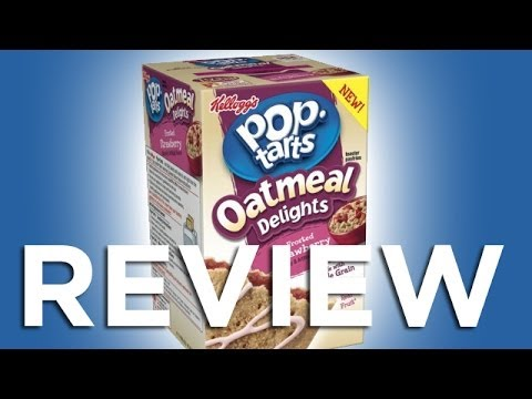 Pop Tart Oatmeal Delights Frosted Strawberry REVIEW: Freezerburns