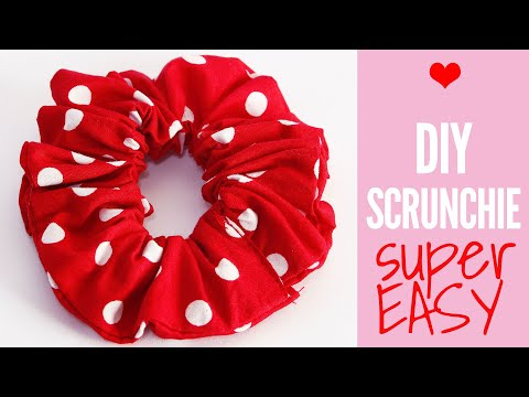 how-to-make-a-scrunchie-|-diy-scrunchie-tutorial