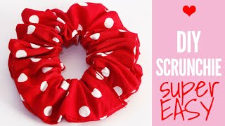 DIY Hair Accessories // How to Make a Scrunchie ♥ DIY Hair Scrunchie Tutorial