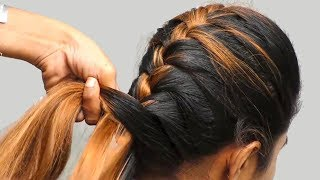Best Braid Hairstyles for party/work/wedding || Easy Hairstyles for Long hair || hair style girl