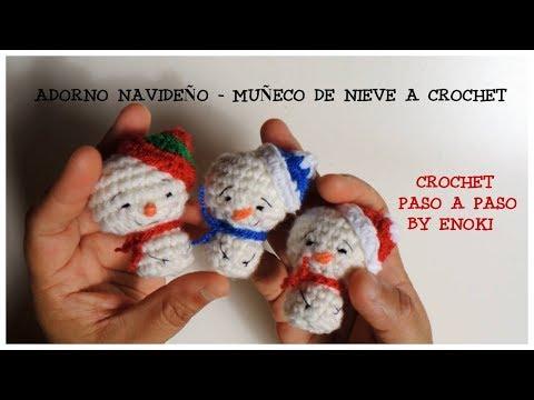 Crochet snowman free amigurumi pattern - YouTube | 360x480