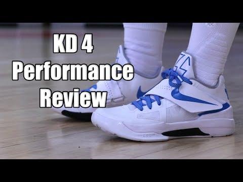 Nike KD 4 (Retro) Performance Review